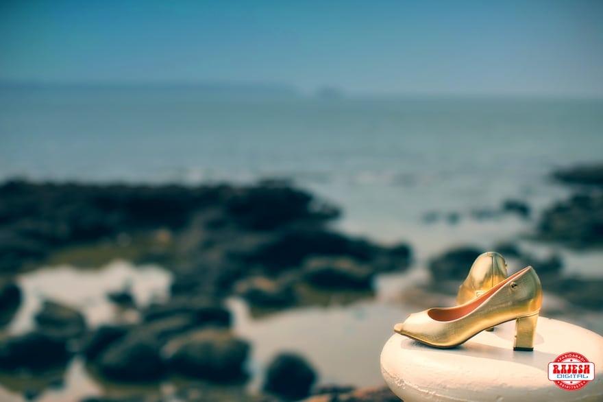 the bridal footwear!:rajesh digital