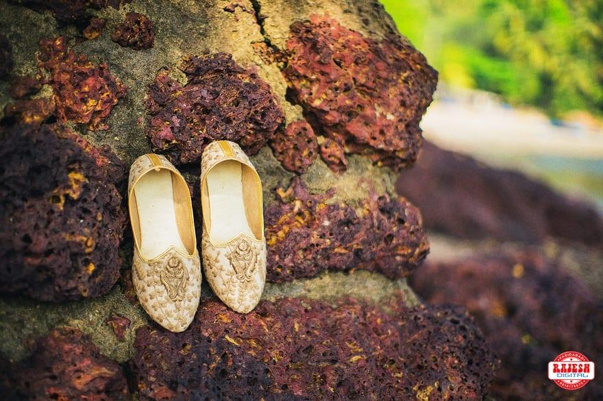 the groom footwear!:rajesh digital