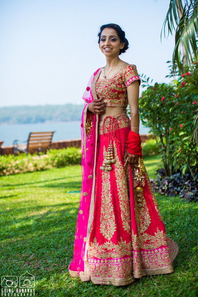 the gorgeous bride!:manyavar, going bananas photography, makeovers by sukanya, design tuk tuk