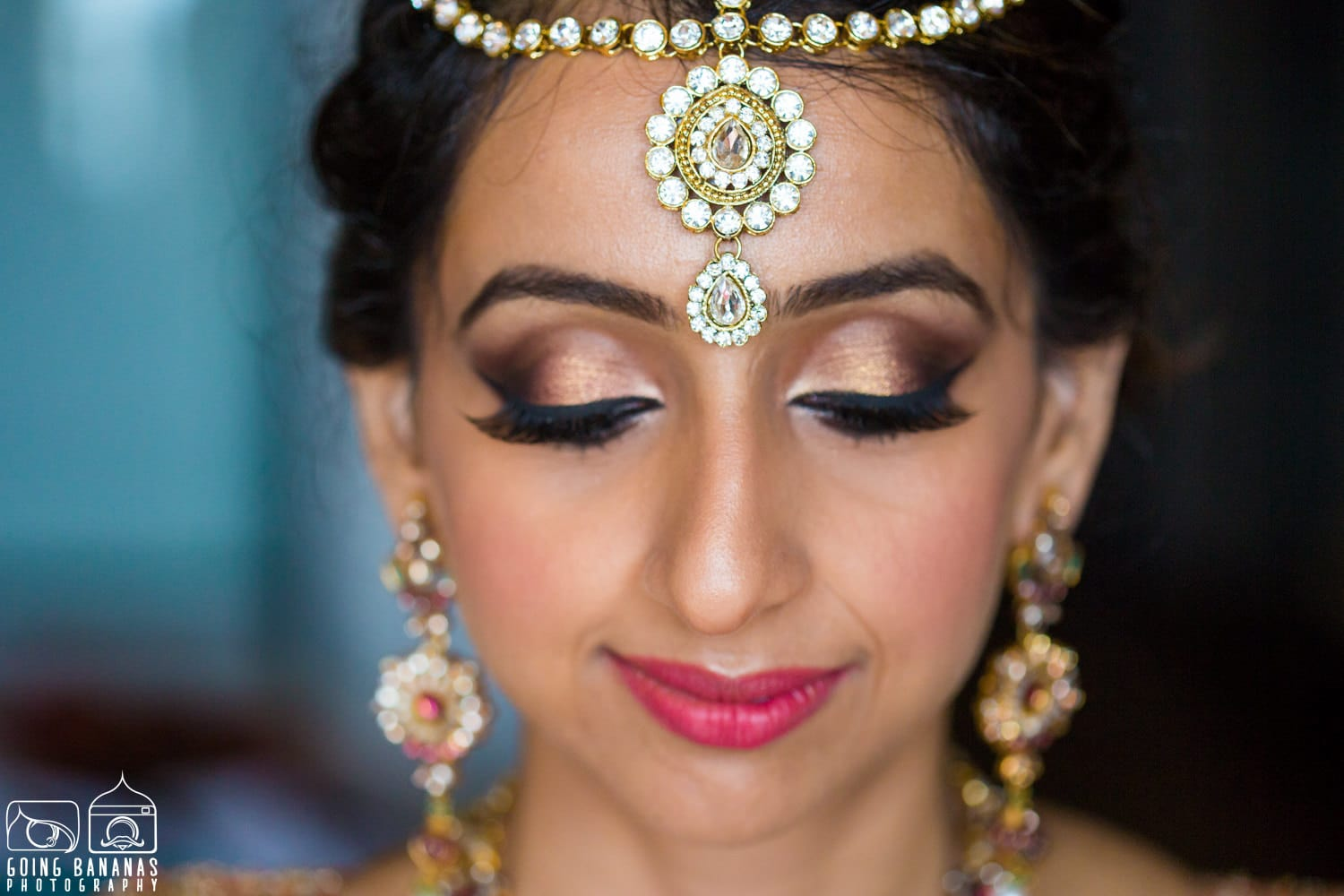 the bridal makeup!:manyavar, going bananas photography, makeovers by sukanya, design tuk tuk