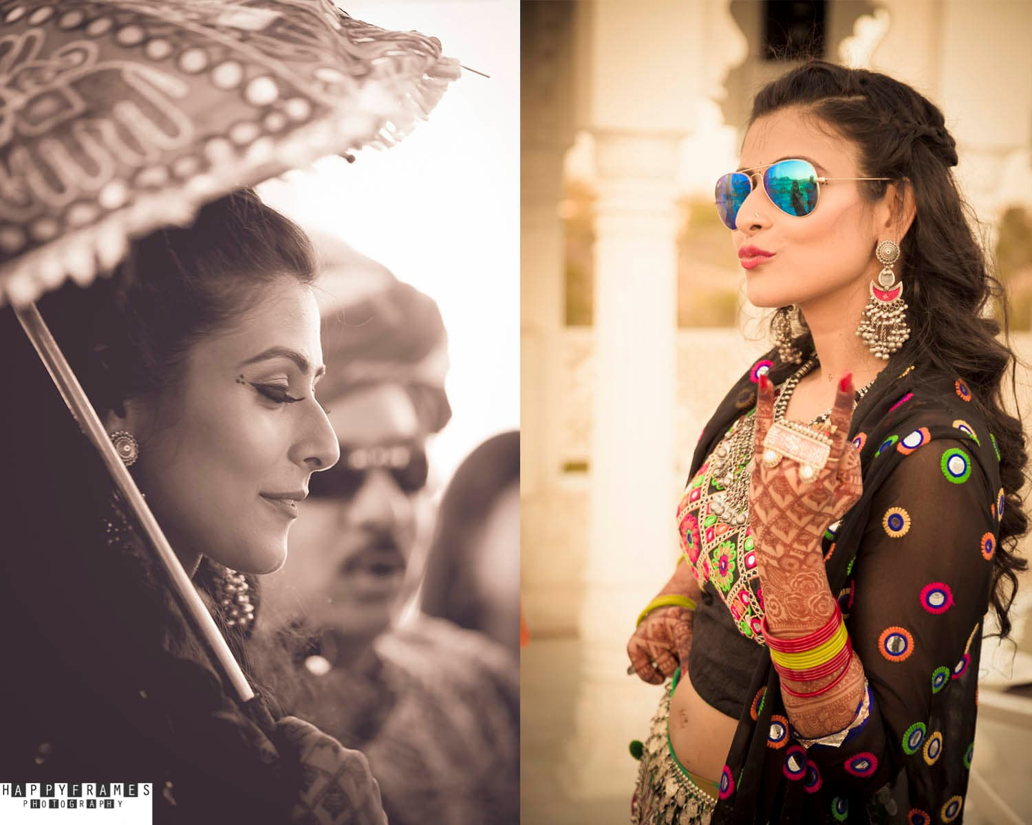 the pretty bride!:amrapali jewellery, happyframes photography