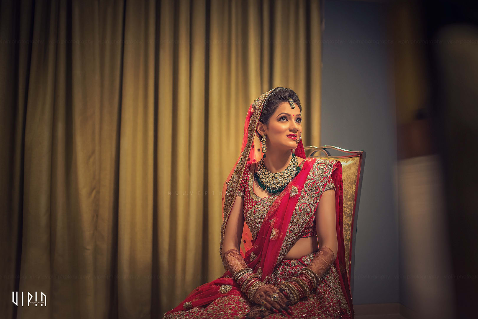 the bride rimple!:vipin photography, bianca, sabyasachi couture pvt ltd