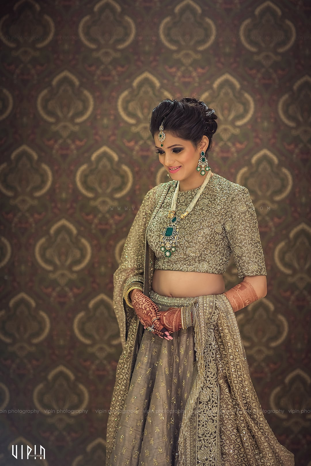 the pretty bride!:vipin photography, bianca, sabyasachi couture pvt ltd