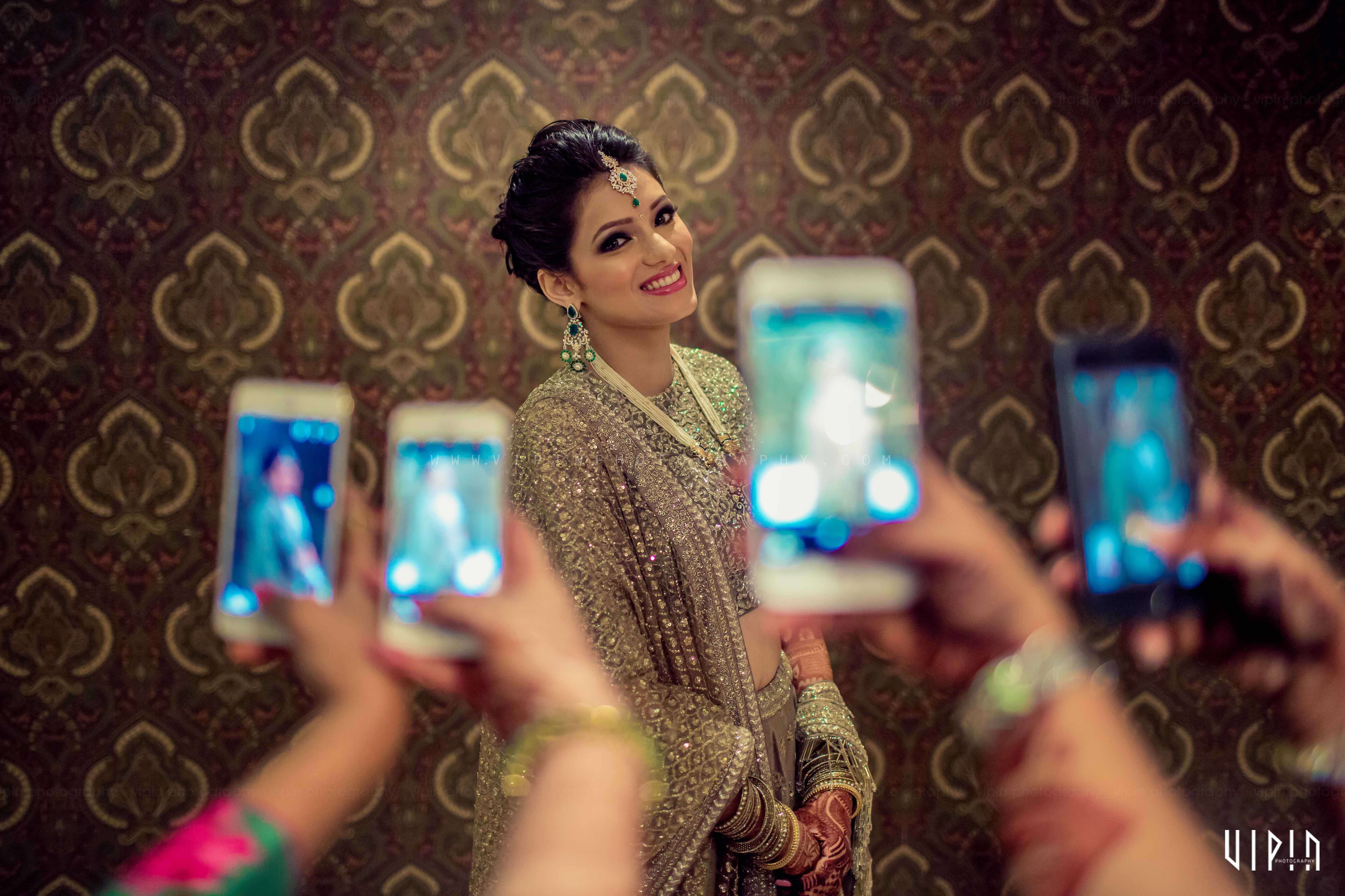 the selfie click!:vipin photography, bianca, sabyasachi couture pvt ltd