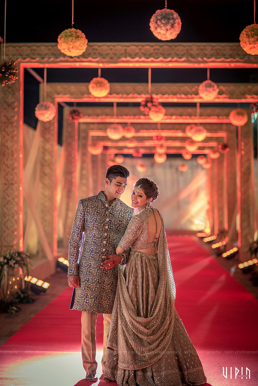 the perfect soulmates!:vipin photography, bianca, sabyasachi couture pvt ltd