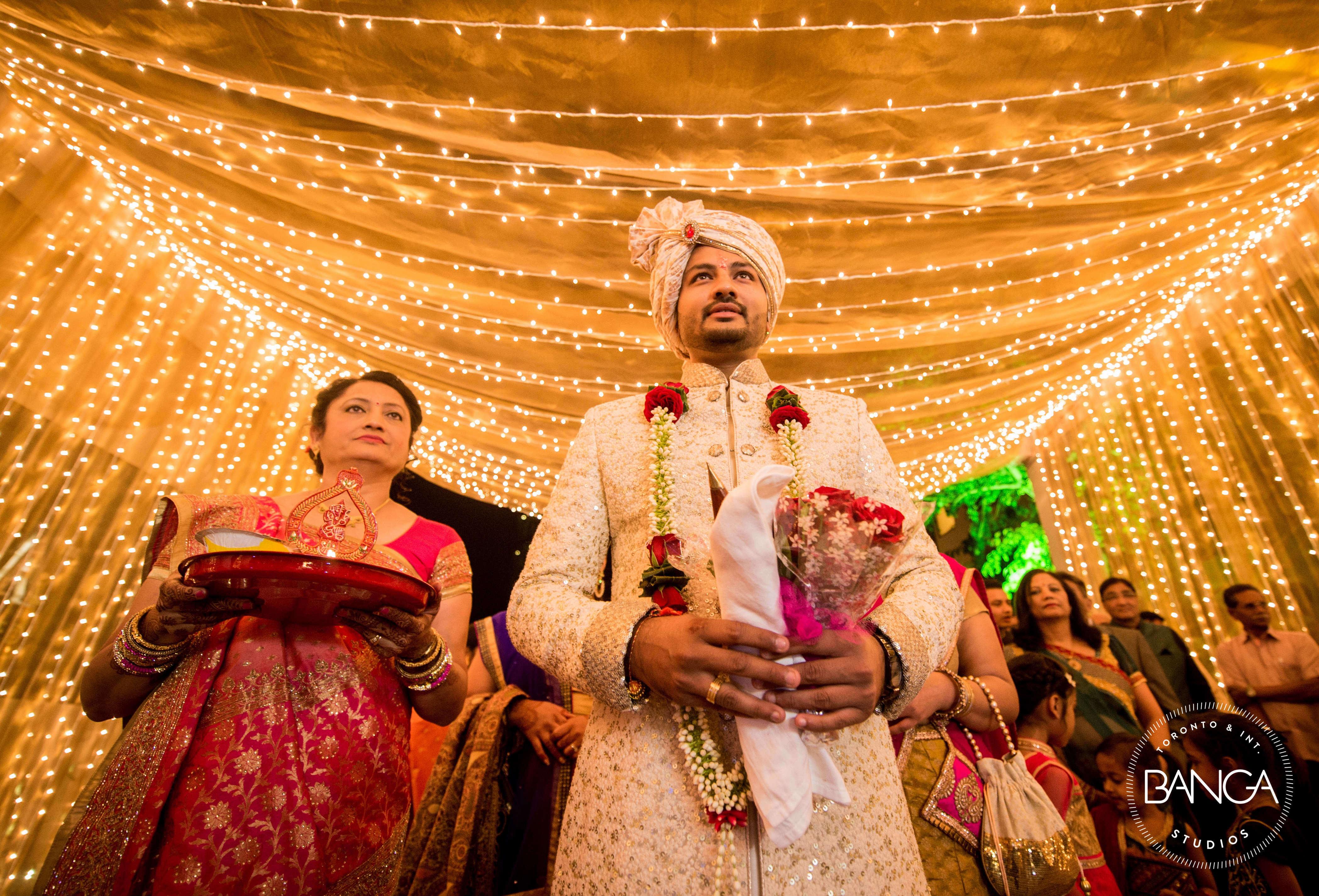 the groom entry!:anita dongre timeless, shyamal and bhumika, anushree reddy, banga studios