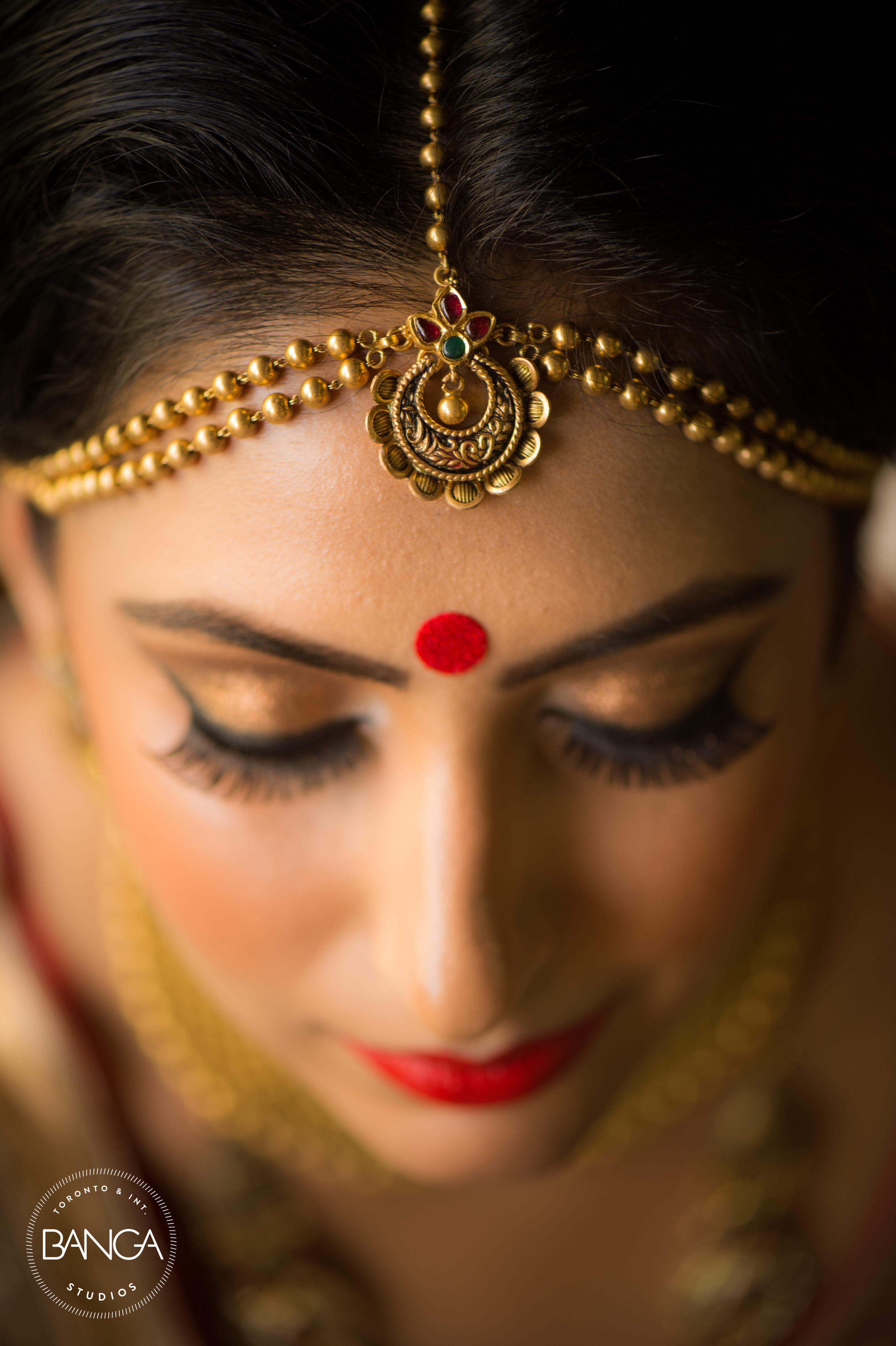 the bride komal!:anita dongre timeless, shyamal and bhumika, anushree reddy, banga studios