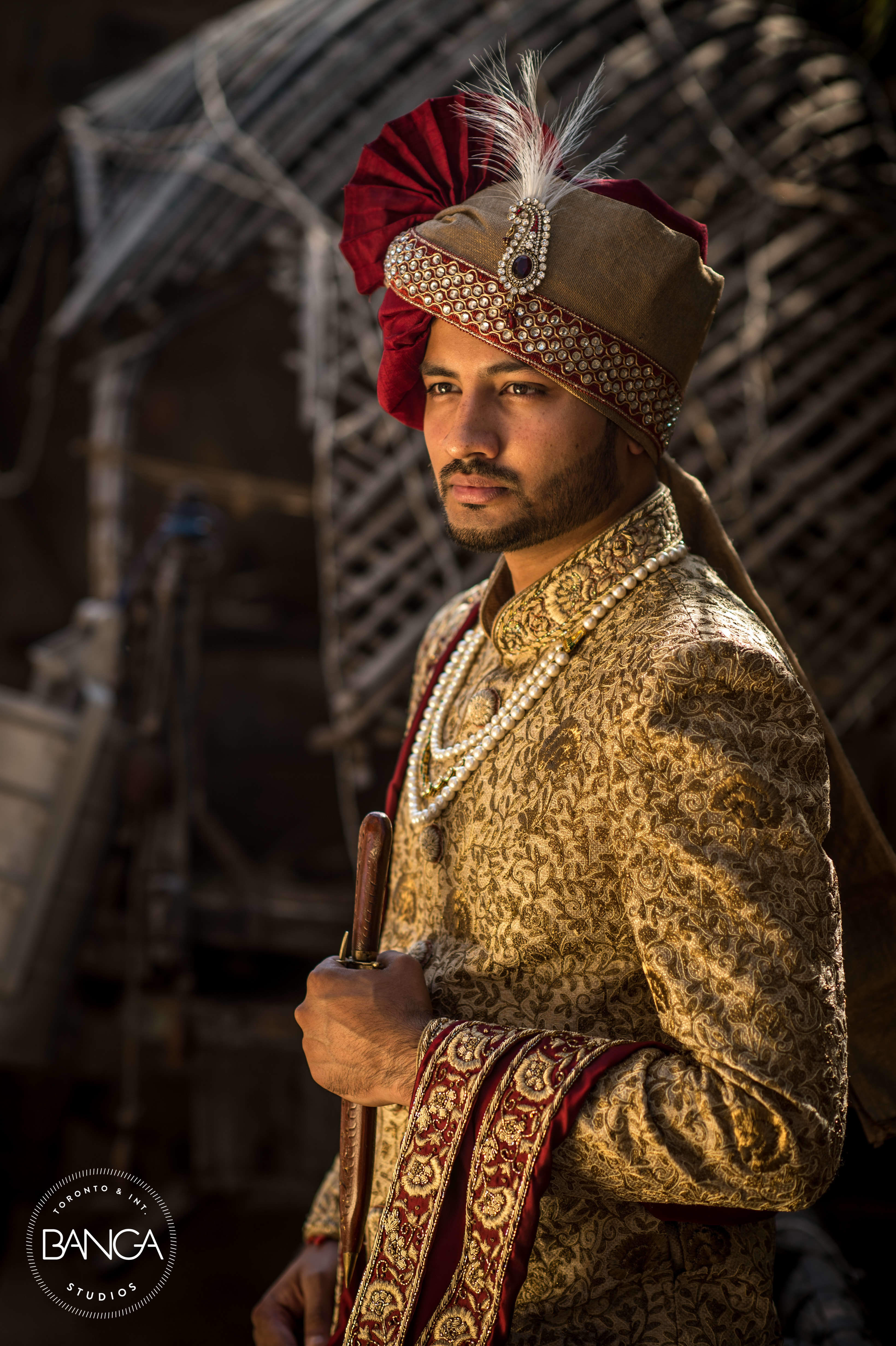 the groom raunak!:anita dongre timeless, shyamal and bhumika, anushree reddy, banga studios