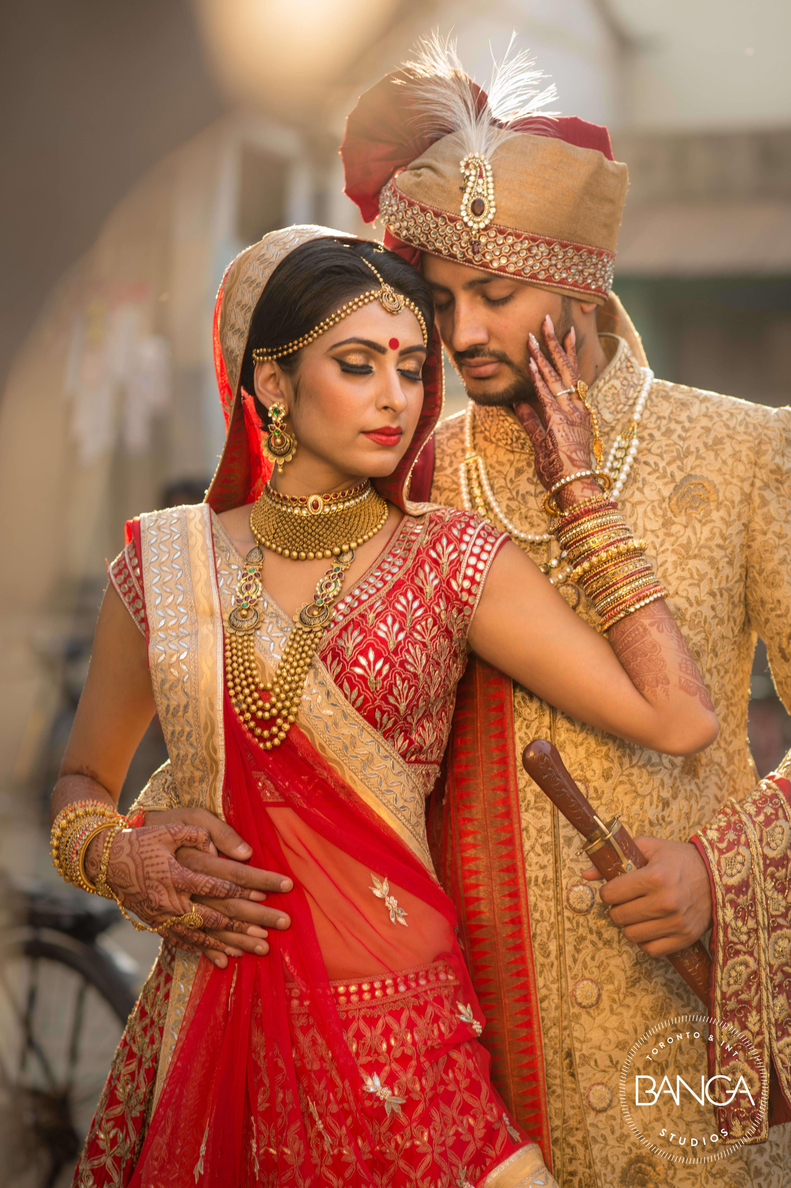raunak & komal!:anita dongre timeless, shyamal and bhumika, anushree reddy, banga studios
