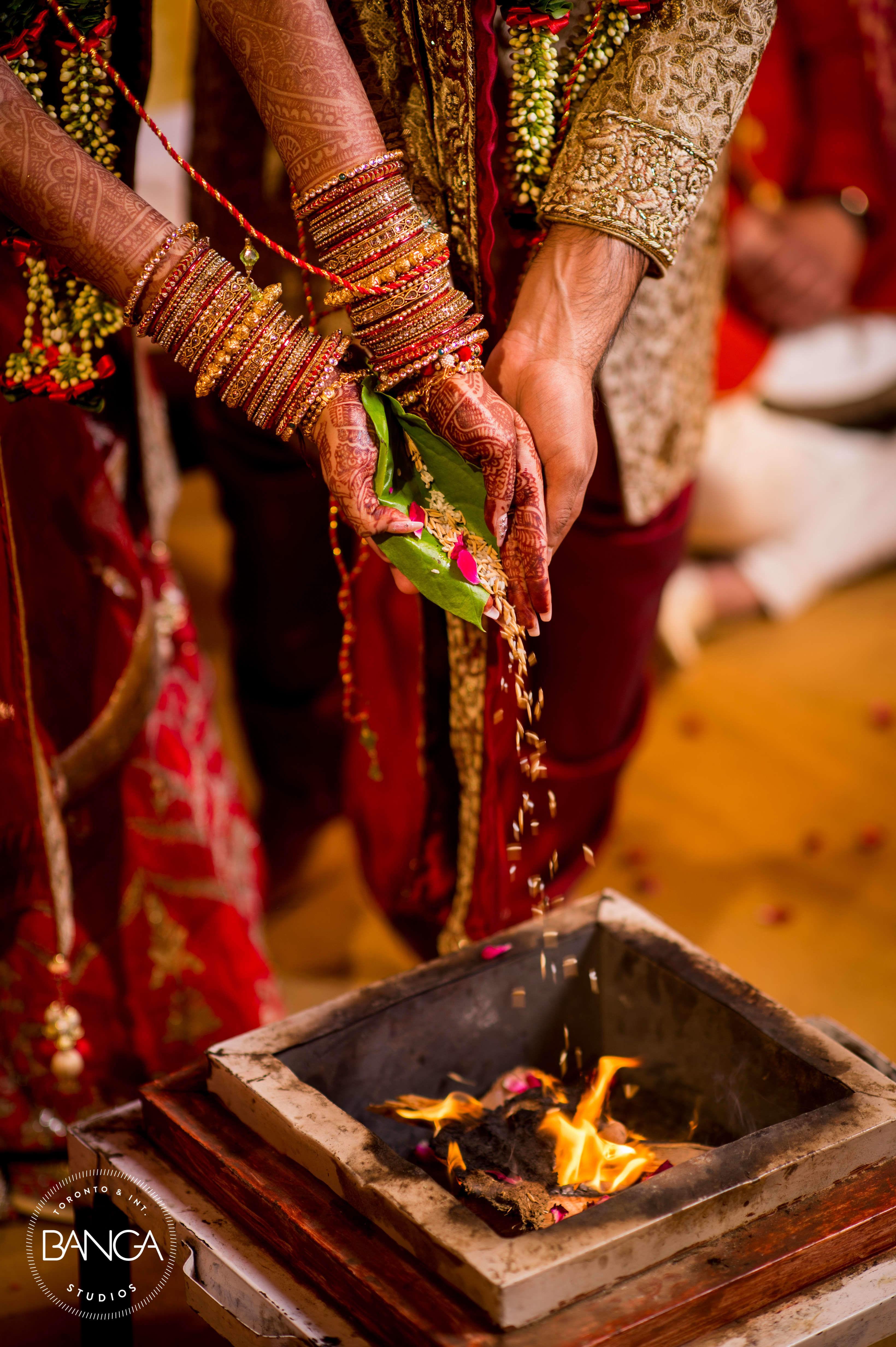 the wedding rituals!:anita dongre timeless, shyamal and bhumika, anushree reddy, banga studios