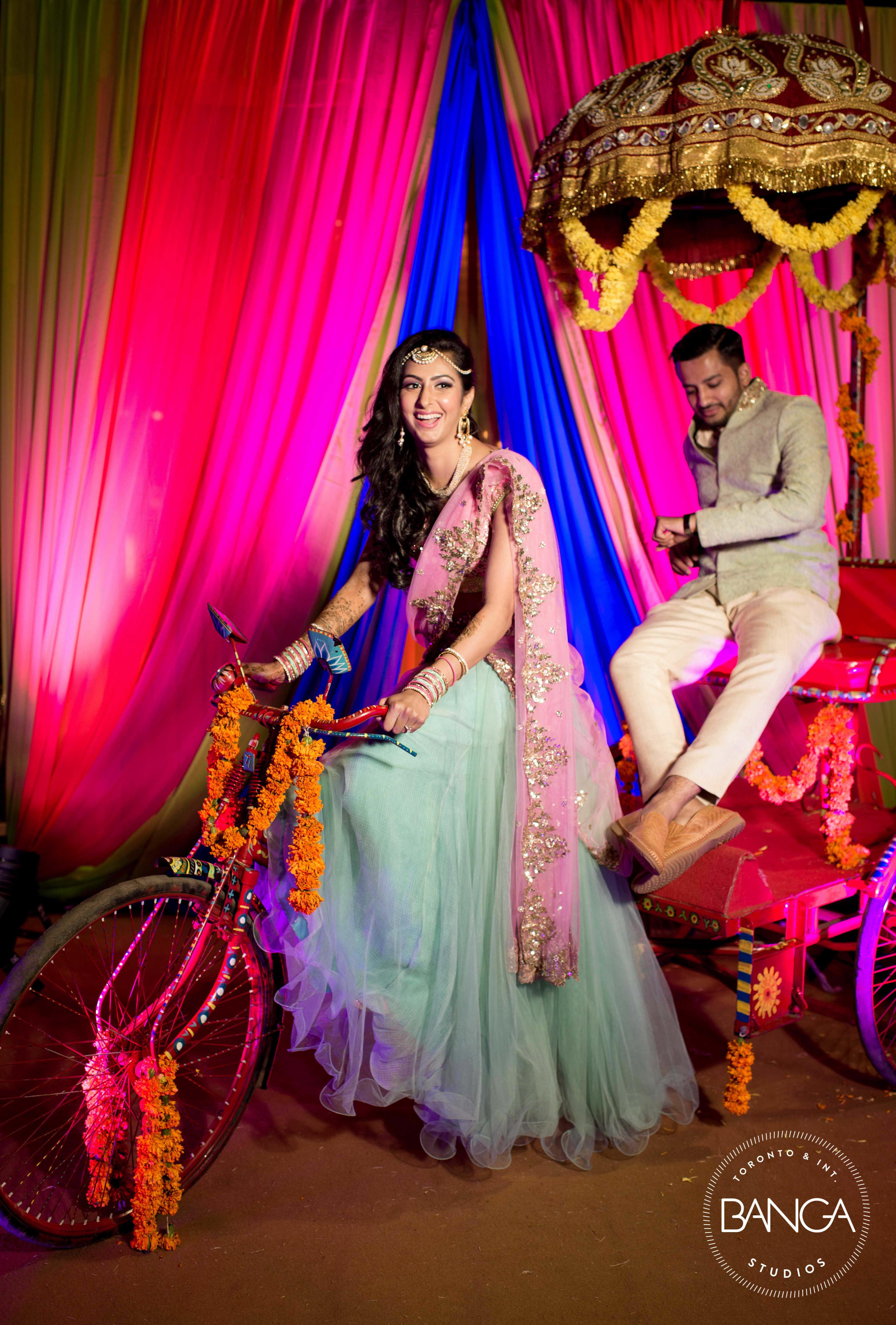 the couple entry!:anita dongre timeless, shyamal and bhumika, anushree reddy, banga studios