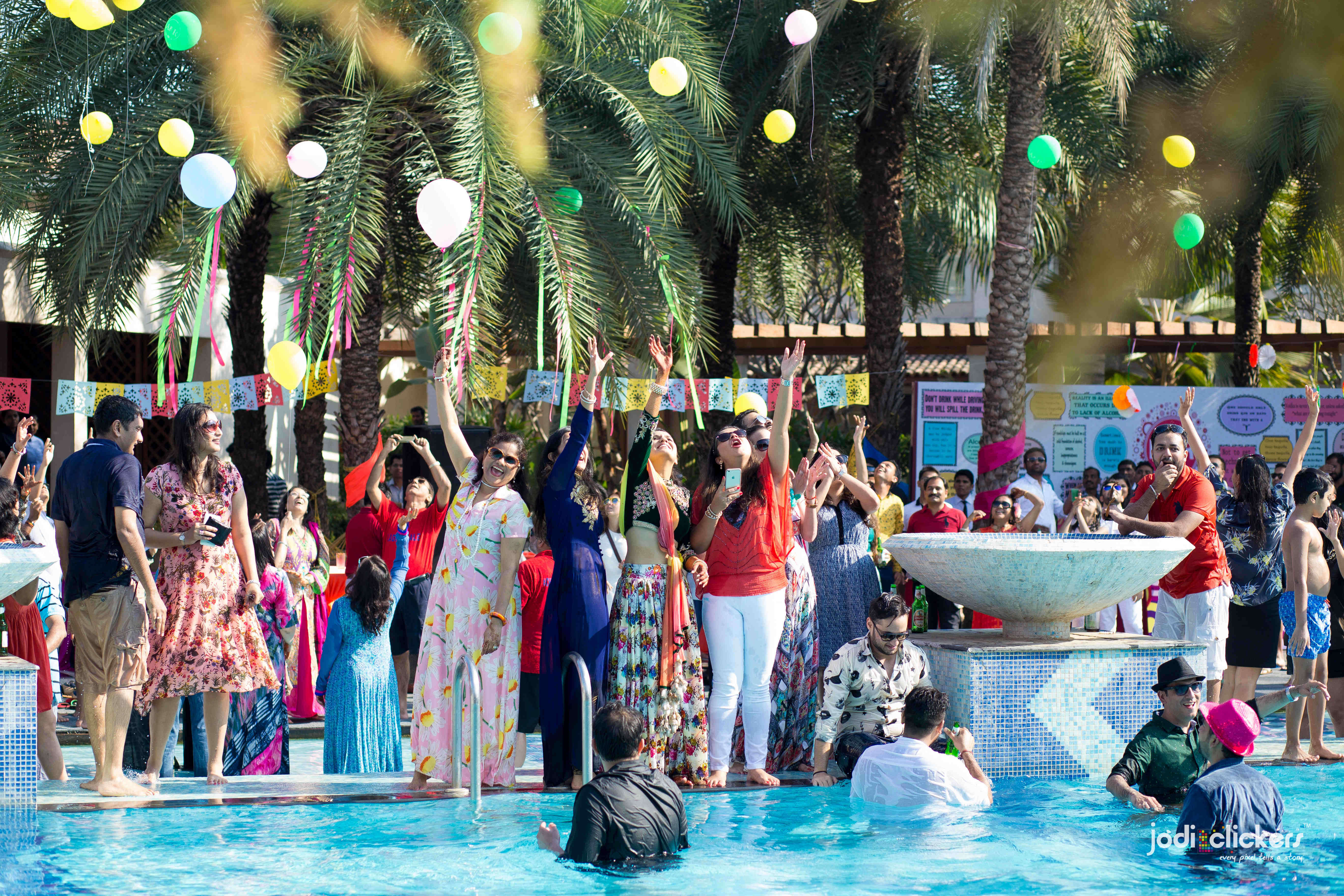 the pool party!:jodi clickers, f5 advertainment, manish malhotra