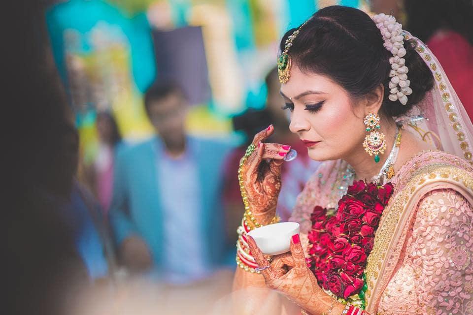 bridal ritual:girl in pink photography