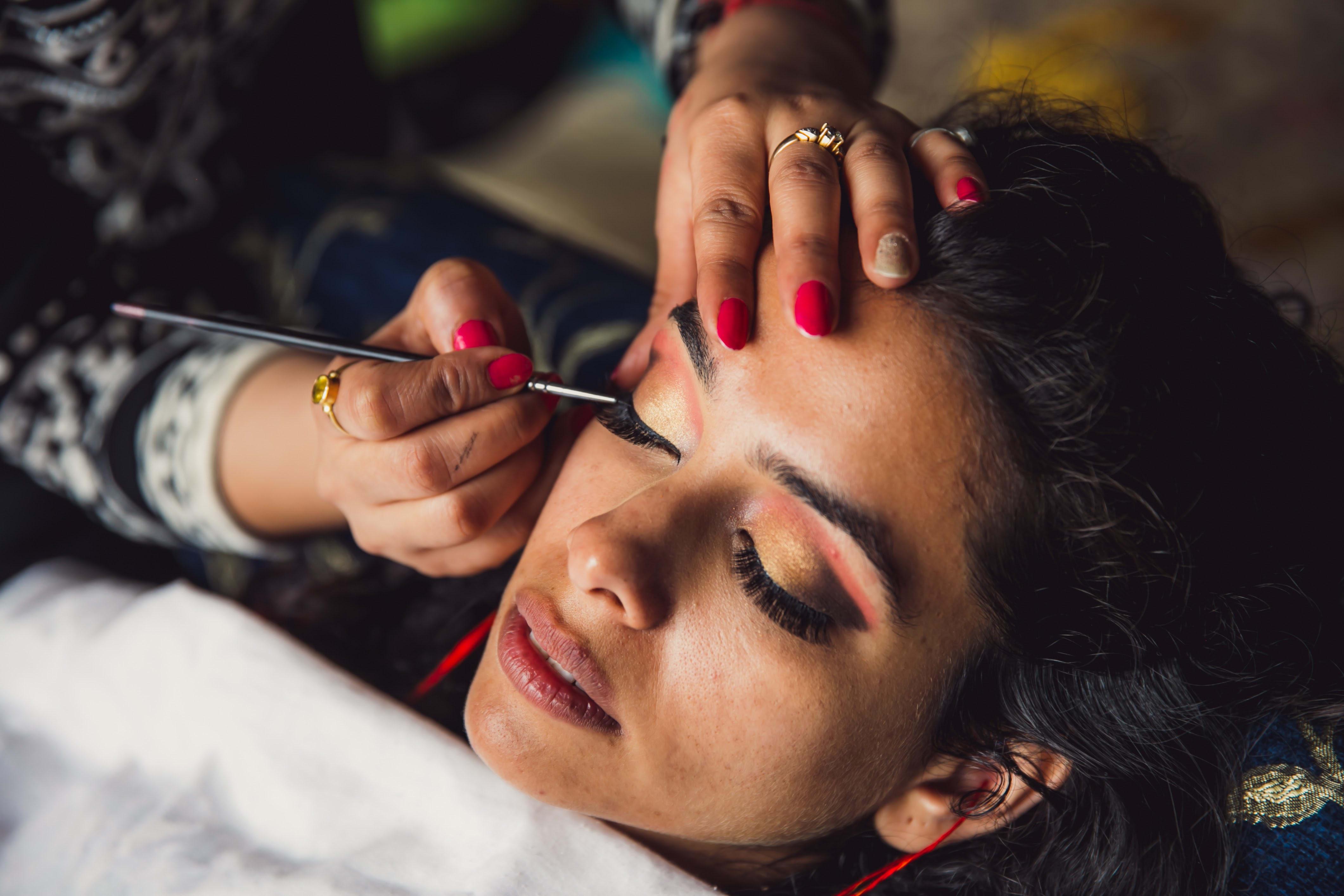 bridal makeup:nikhil kapur photography