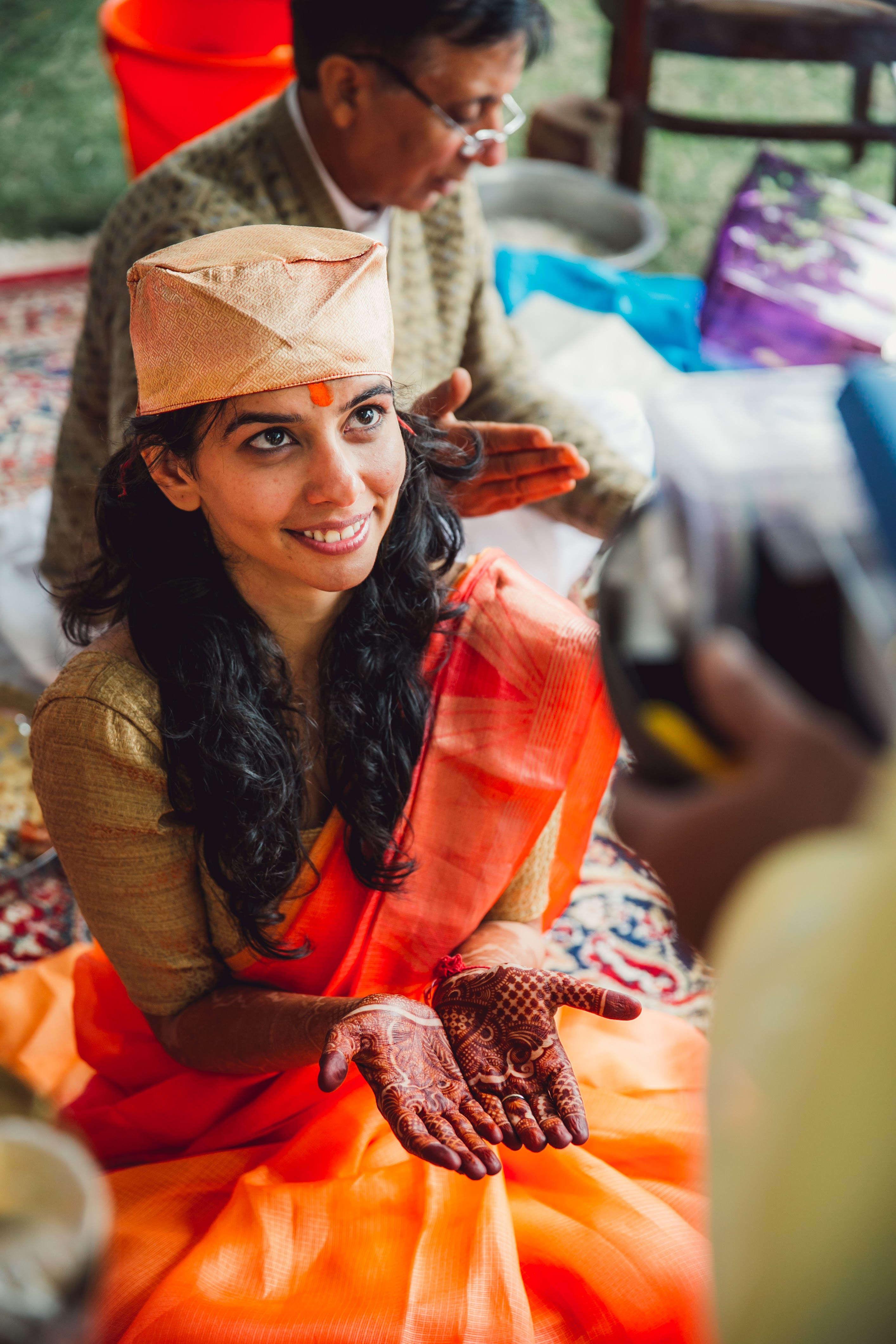 happy bride:nikhil kapur photography