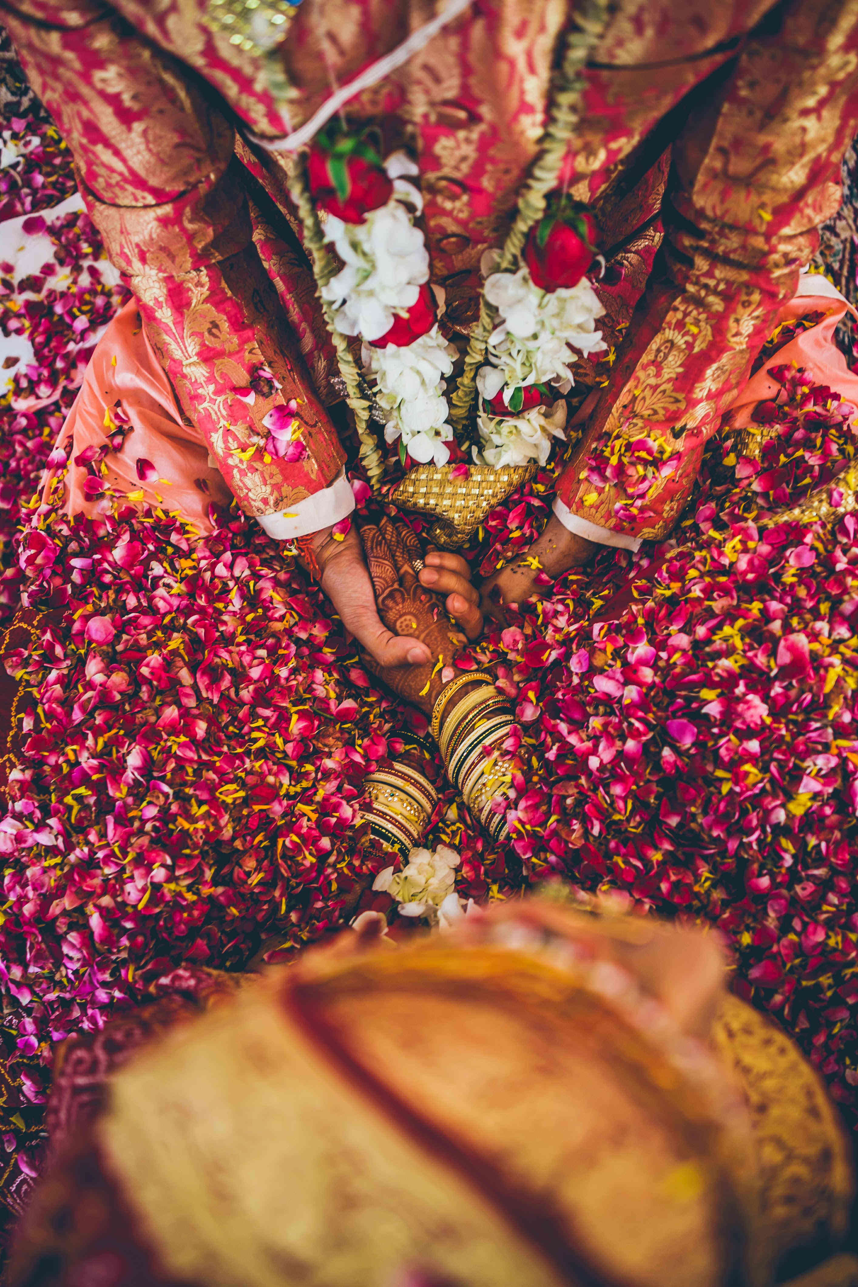 the flowers of blessings:nikhil kapur photography