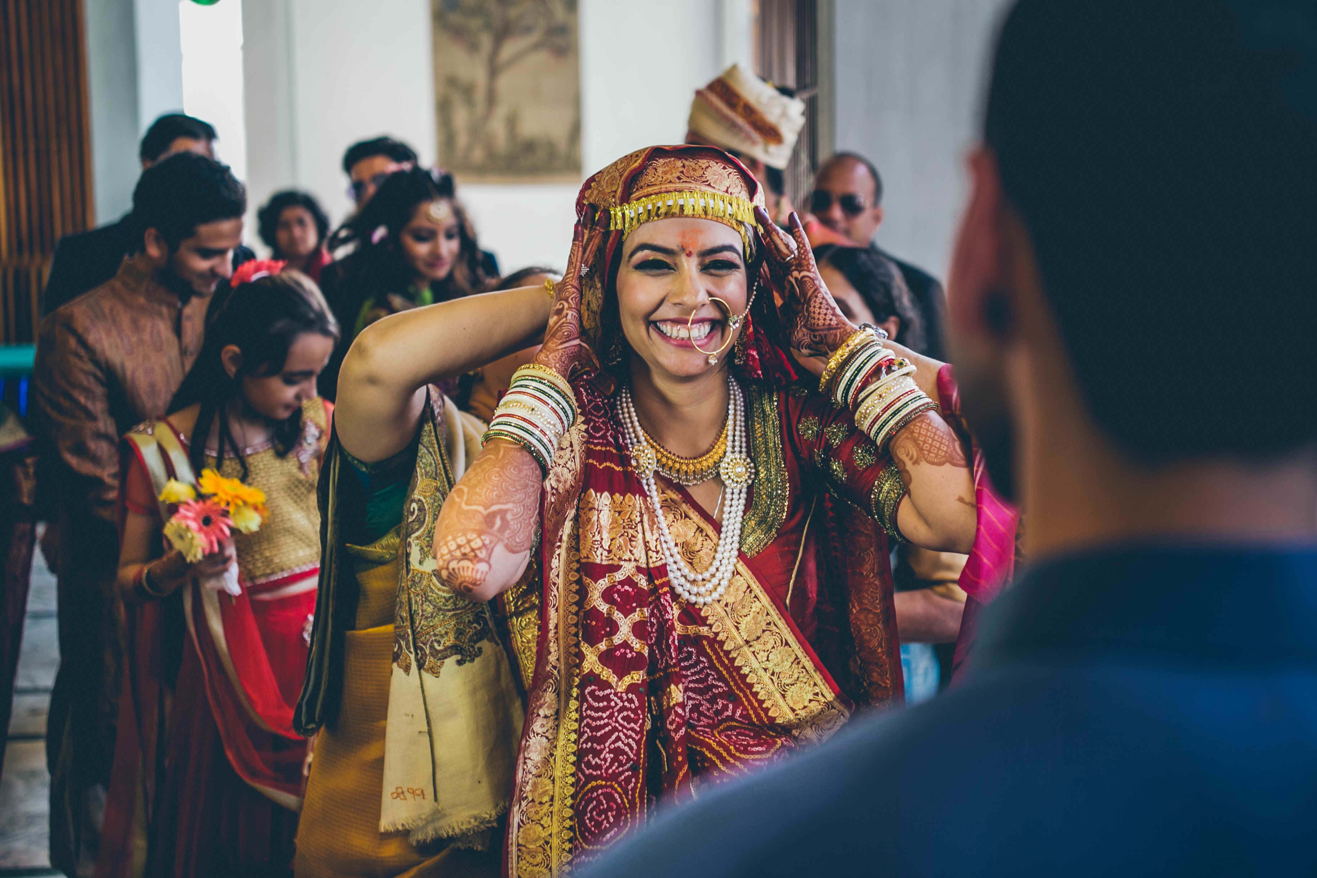 smile bride:nikhil kapur photography
