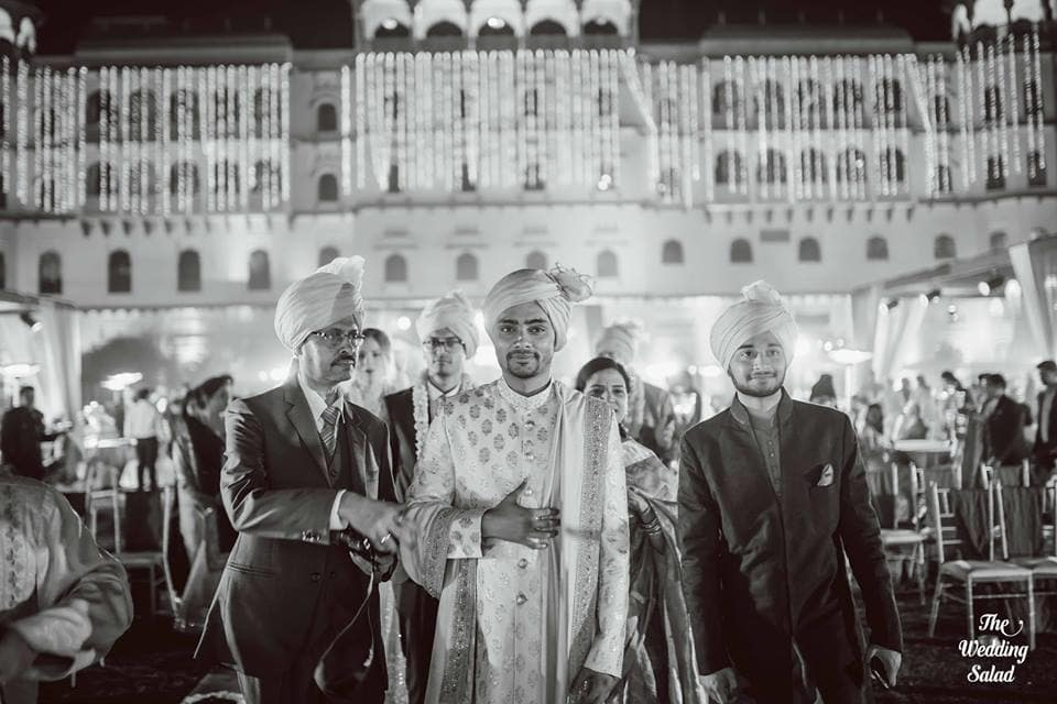 the groom!:the wedding salad, sabyasachi couture pvt ltd