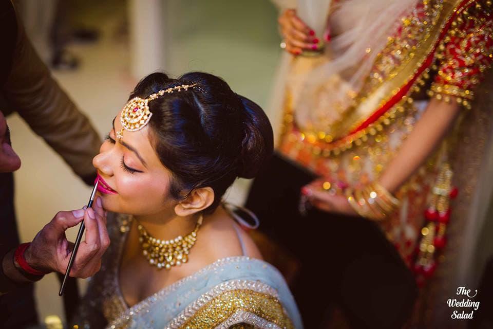 the stunning bride!:the wedding salad, sabyasachi couture pvt ltd