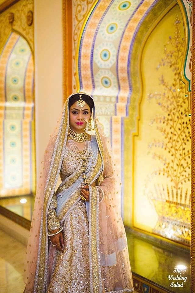 the bride garima!:the wedding salad, sabyasachi couture pvt ltd