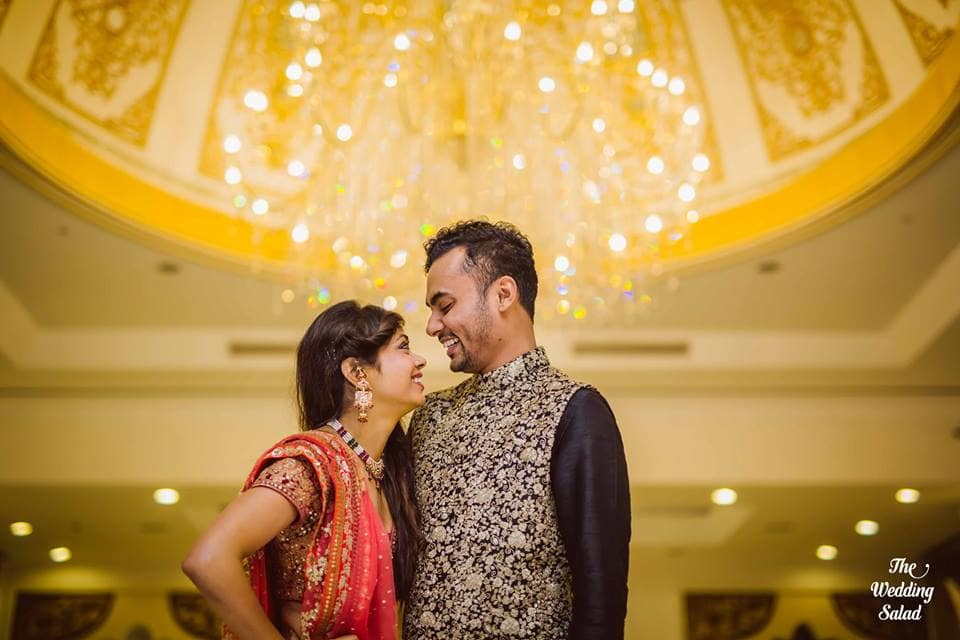 garima & tuhin!:the wedding salad, sabyasachi couture pvt ltd