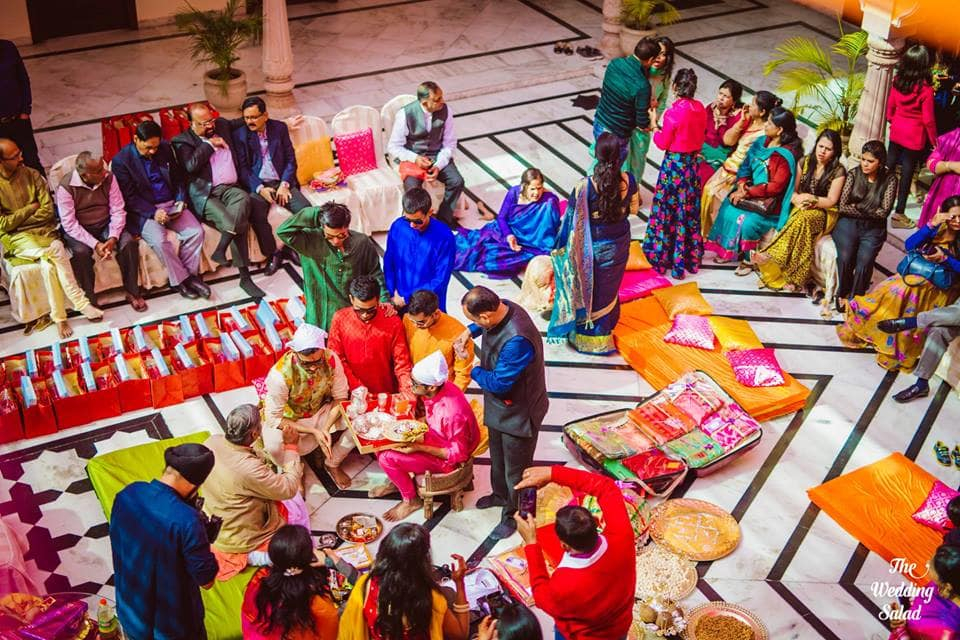 the wedding rituals!:the wedding salad, sabyasachi couture pvt ltd
