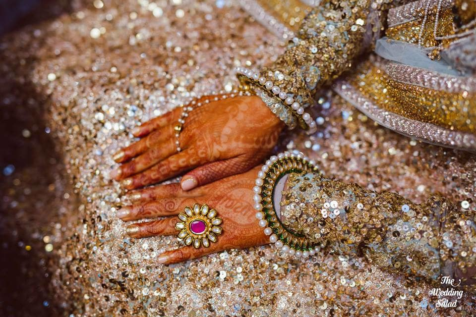 the mesmerizing jewellery!:the wedding salad, sabyasachi couture pvt ltd