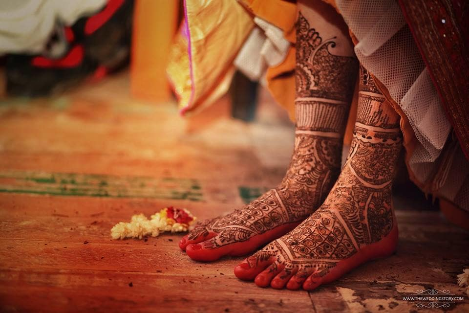 the bridal mehandi!:the wedding story