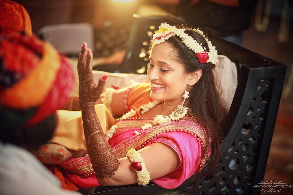 the bridal mehandi!:the wedding story