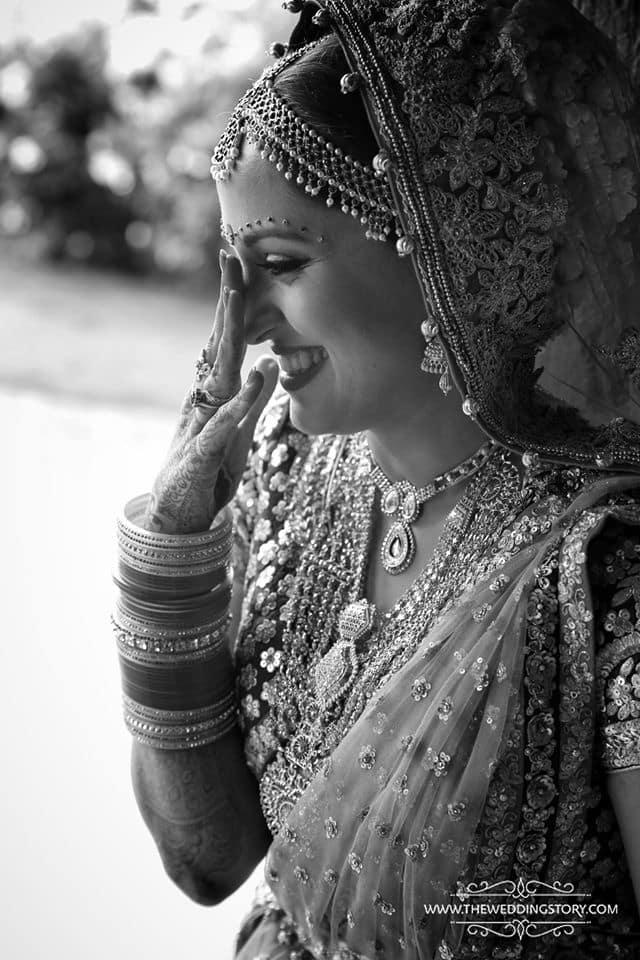 the gorgeous bride!:the wedding story