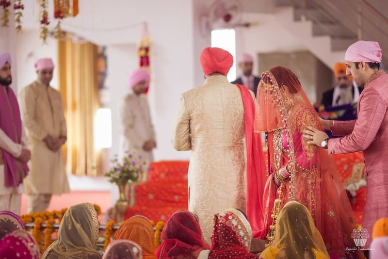 the wedding rituals!:hazoorilal jewellers, cupcake productions, jagdish jewellers, stallone manor, hyatt regency ludhiana, aarushi oswal makeup artist, prerna khullar makeup artist, stitch by sarab khanijou, rimple and harpreet narula couture, dolly j