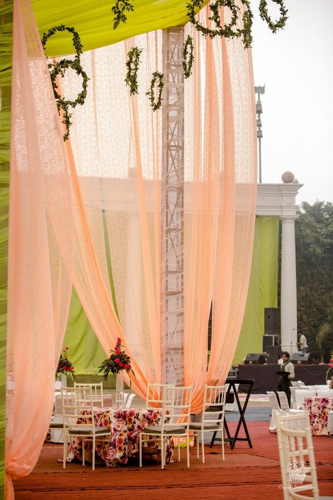 pretty wedding decoration!:hazoorilal jewellers, cupcake productions, jagdish jewellers, stallone manor, hyatt regency ludhiana, aarushi oswal makeup artist, prerna khullar makeup artist, stitch by sarab khanijou, rimple and harpreet narula couture, dolly j