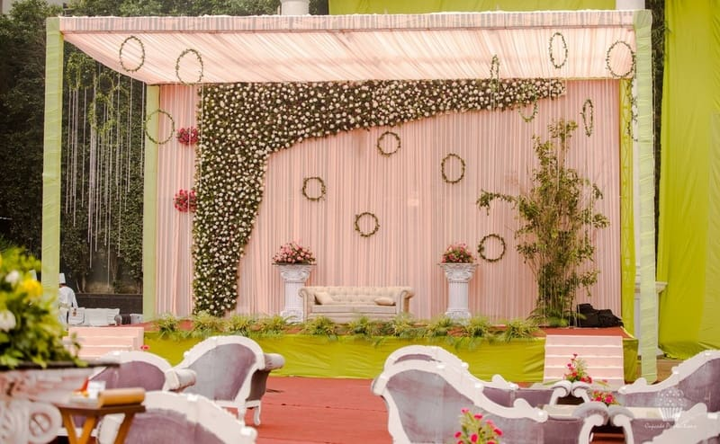 the wedding decoration!:hazoorilal jewellers, cupcake productions, jagdish jewellers, stallone manor, hyatt regency ludhiana, aarushi oswal makeup artist, prerna khullar makeup artist, stitch by sarab khanijou, rimple and harpreet narula couture, dolly j
