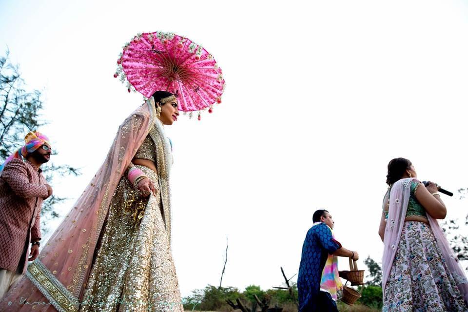 the bride surabhi!:karan sidhu photography, daniel bauer makeup and hair, tarun tahiliani, anuj madaan couture, purple tree event solutions