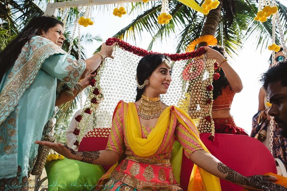 the mehandi ceremony!:karan sidhu photography, daniel bauer makeup and hair, tarun tahiliani, anuj madaan couture, purple tree event solutions