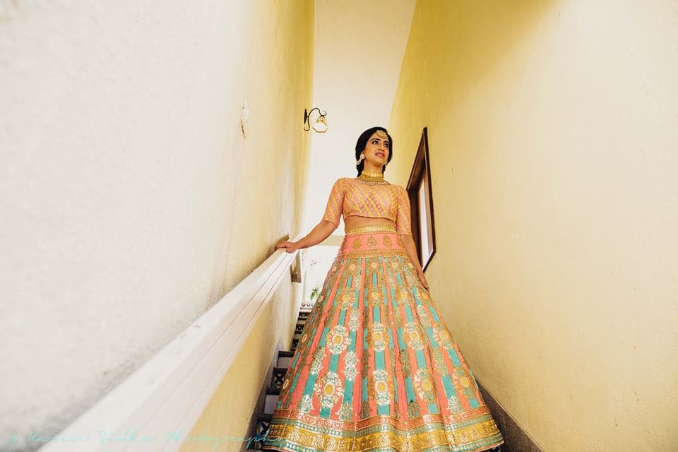 the bride surabhi!:karan sidhu photography, daniel bauer makeup and hair, tarun tahiliani, anuj madaan couture, purple tree event solutions