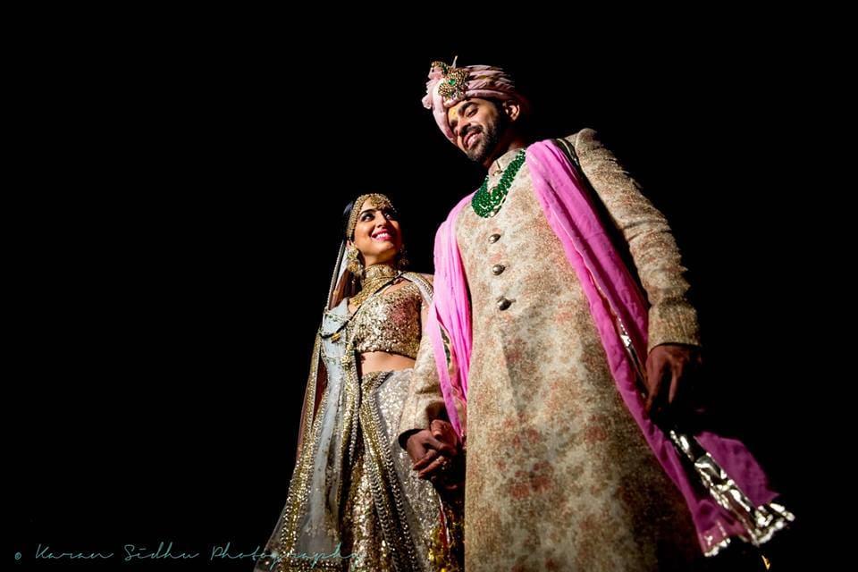 dhruv & surabhi!:karan sidhu photography, daniel bauer makeup and hair, tarun tahiliani, anuj madaan couture, purple tree event solutions