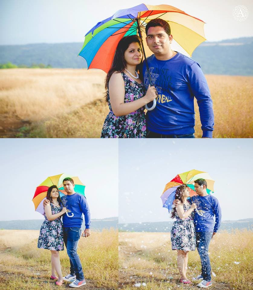 colorful pre wedding click:amour affairs