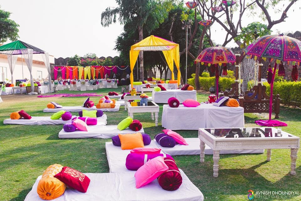 the wedding decor!:bianca, aza, jinaam fashion world, magic mirror