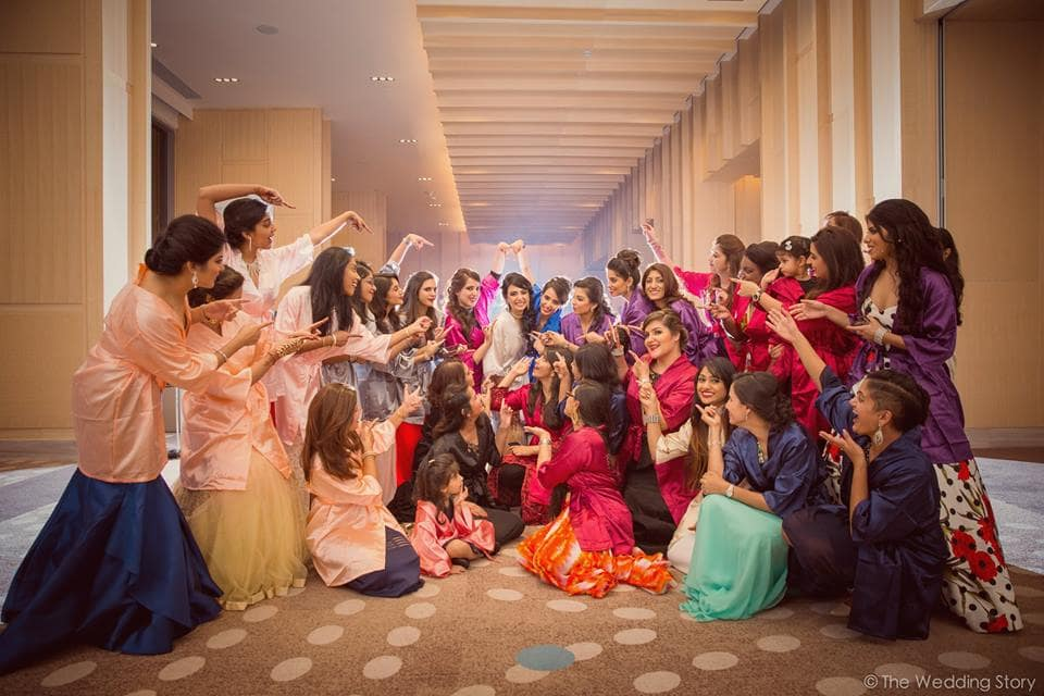 the bridesmaid click!:the wedding story