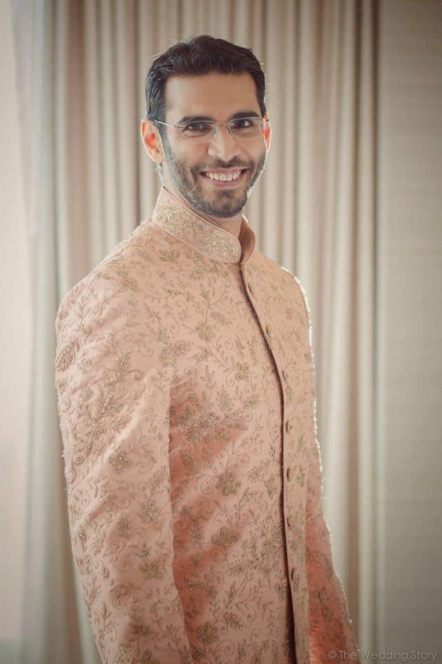 the groom manish!:the wedding story