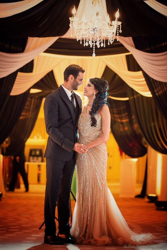 the stunning couple!:the wedding story