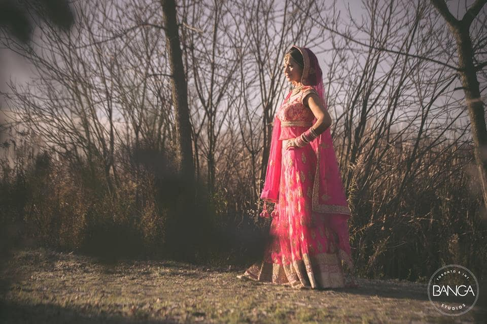 the bride shama!:banga studios