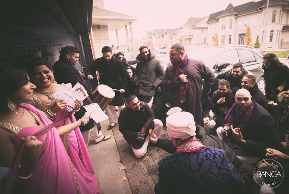 the wedding celebrations!:banga studios