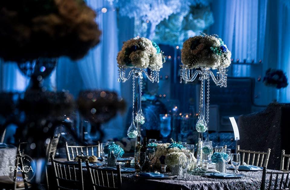 the wedding decor!:banga studios