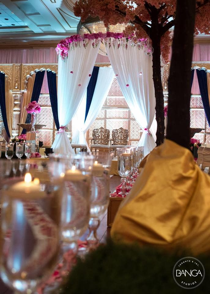 the wedding decoration!:banga studios