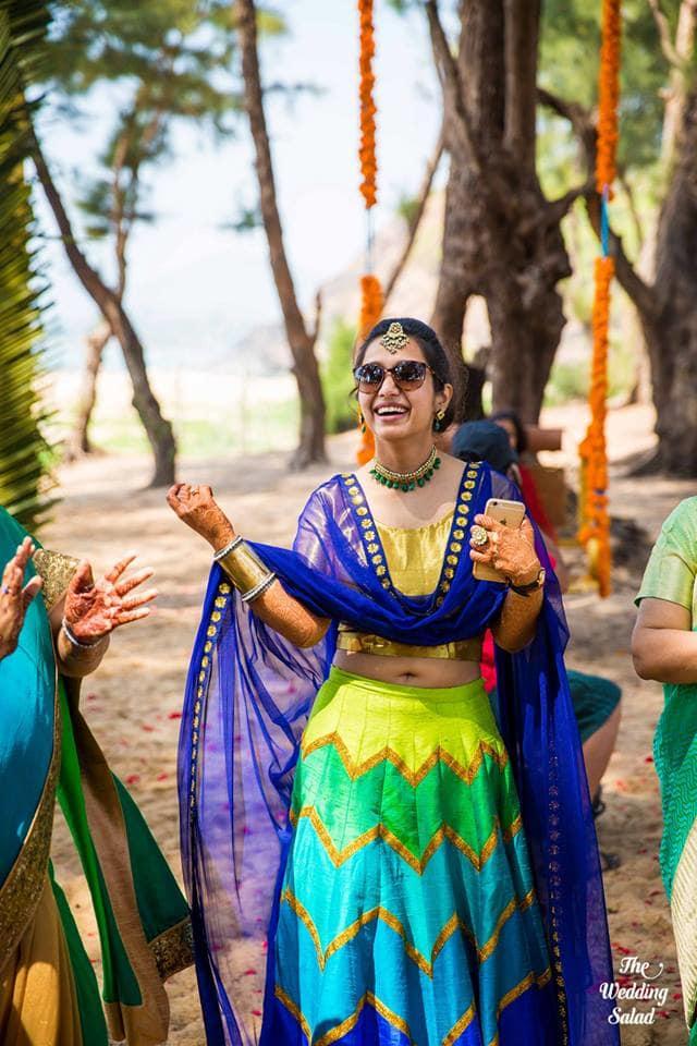 the bride!:priyal prakash house of design, the wedding salad, manish malhotra, anita dongre, gaurav gupta designer