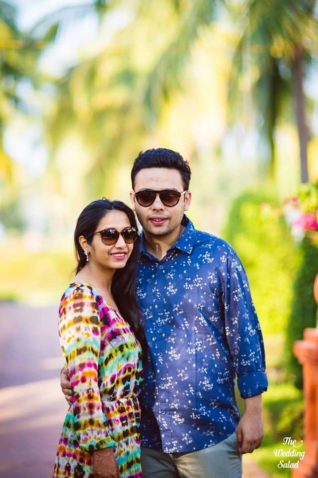 the pre-wedding shoot!:priyal prakash house of design, the wedding salad, manish malhotra, anita dongre, gaurav gupta designer