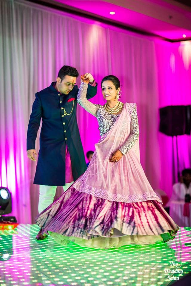 the sangeet ceremony!:priyal prakash house of design, the wedding salad, manish malhotra, anita dongre, gaurav gupta designer