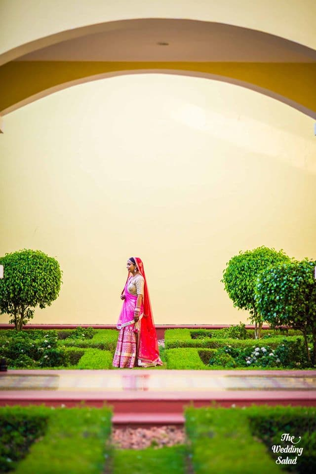 the stunning bride!:priyal prakash house of design, the wedding salad, manish malhotra, anita dongre, gaurav gupta designer